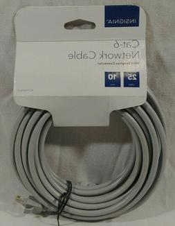 Insignia- 25' Cat-6 Ethernet Cable - Gray
