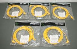 Black Box Cat6 Angled Patch Cable, 10ft Ethernet, 90° UP/D