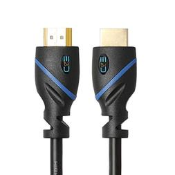 50ft  High Speed HDMI Cable Male to Male with Ethernet Black