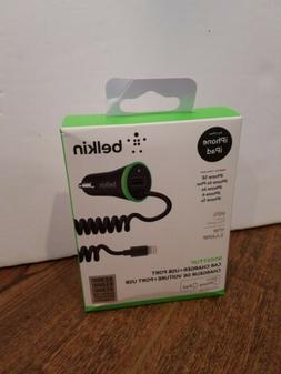 BELKIN Boost Up Universal iPhone Ipad Car Charger USB D5