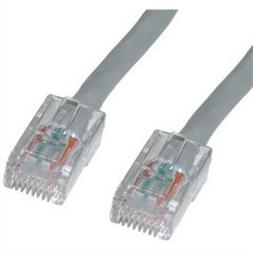 cat6 gray ethernet patch cable bootless 10