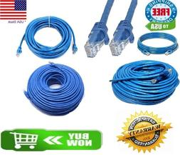 CAT6 Patch Network Cable Rj45 Ethernet 6ft 10ft 25ft 50ft 10