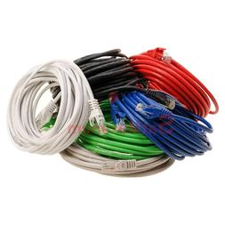 Cat6 Patch Cord Ethernet Cable CAT 6 Internet RED GREEN WHIT