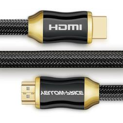 High-Speed HDMI 2.0a Cable 25 Ft Supports Ethernet-3D-4K and
