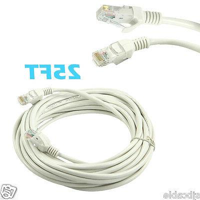 25ft rj45 cat5 patch cord cable