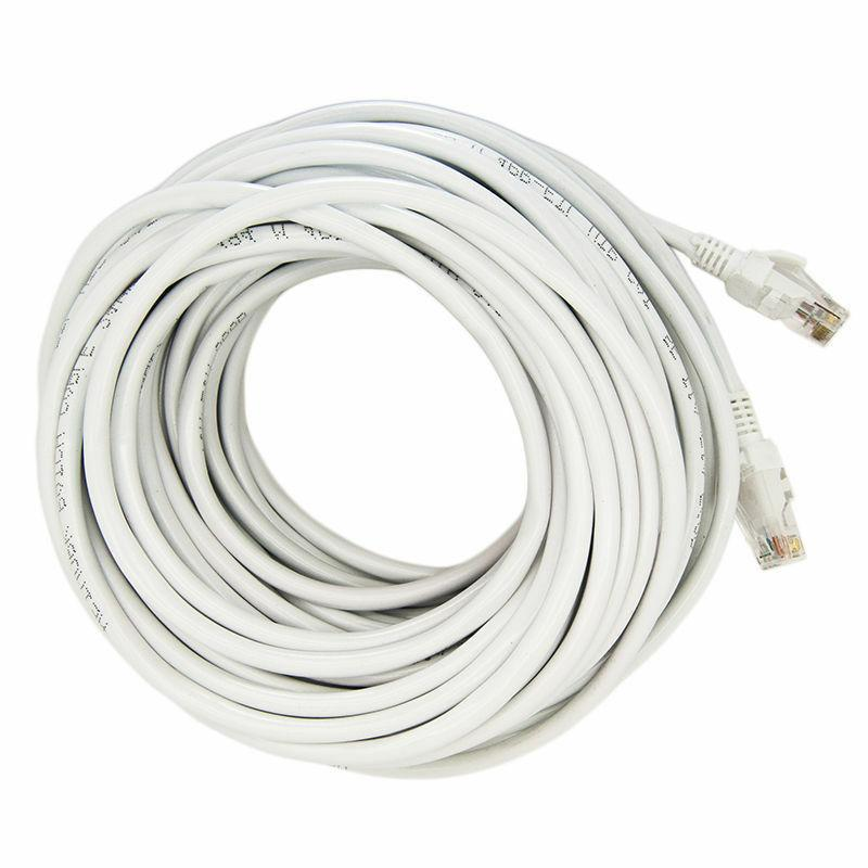 Cat Cord Cable Internet Network UTP WHITE