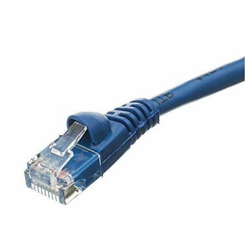 C&E 10 Hi-Speed Ethernet Patch Cable, Snagless/Molded