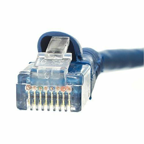 C&E 10 CAT5E Hi-Speed LAN Patch Cable, Snagless/Molded Boot,