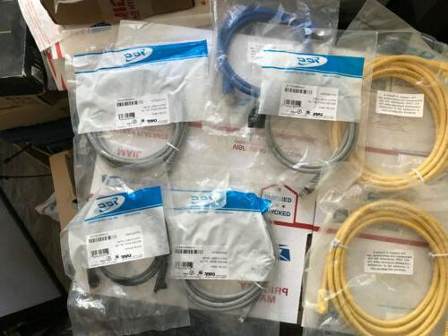 cat 6 cables yellow 10ft to 3ft