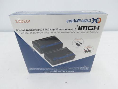 new 103002 hdmi extender over single cat