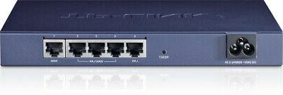 TP-LINK Blue wired router