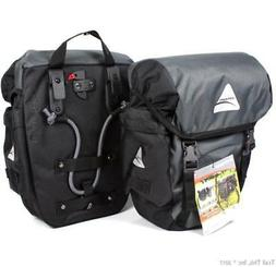 Axiom Seymour DLX 20 Touring Bicycle Panniers Pair Rear Comm