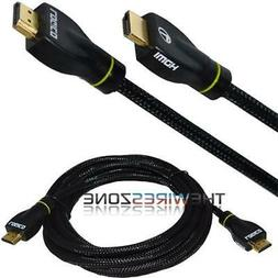 High Speed HDMI Cable 15 FT 1.4 1080P Ethernet-Audio Return